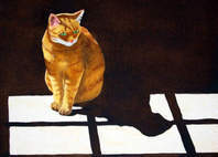 manx cat paintings