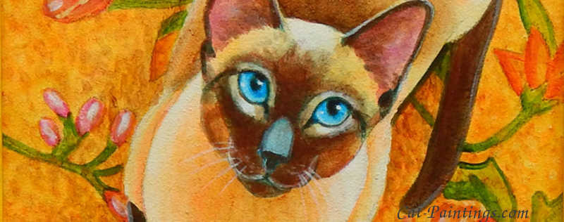 Cat Paintings Banner