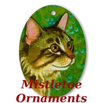 Christmas Ornament of Maine Coon Cat